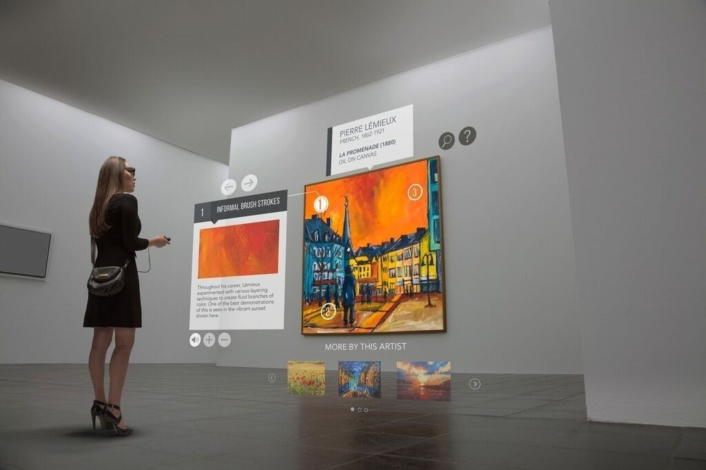 Museum Experience with Virtual Reality