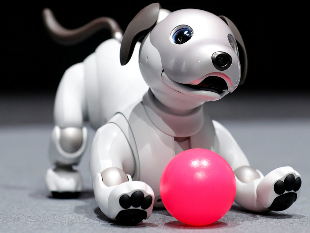 Aibo Sony pet robot