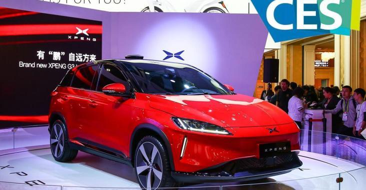 Xiaopeng Motors G3 unveiled at CES Las Vegas