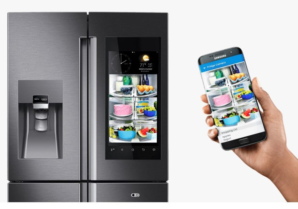 Samsung's Family Hub smart fridge